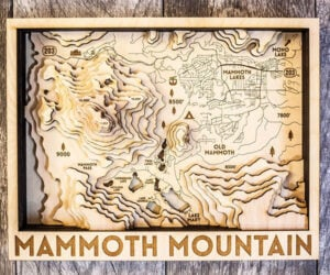 Origin 3D Wood Maps
