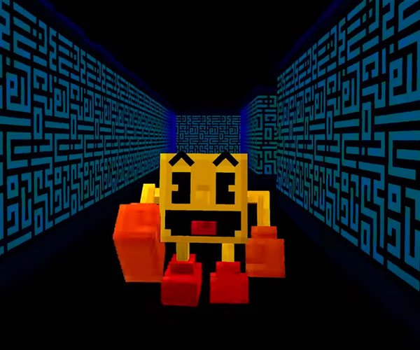 Minecraft x Pac-Man