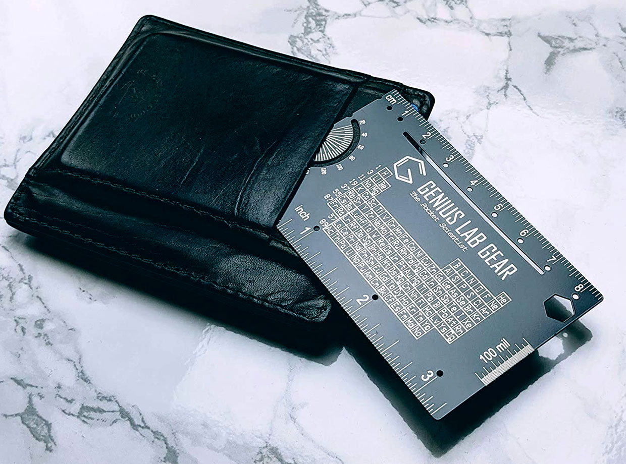 The Pocket Scientist Wallet Card