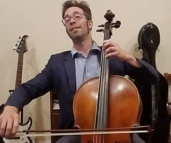 Pure Imagination on Cello