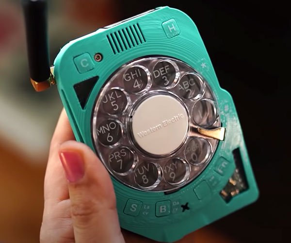 Rotary Dial Cell Phone