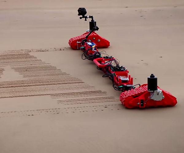 Sand Drawing Robot 2.0