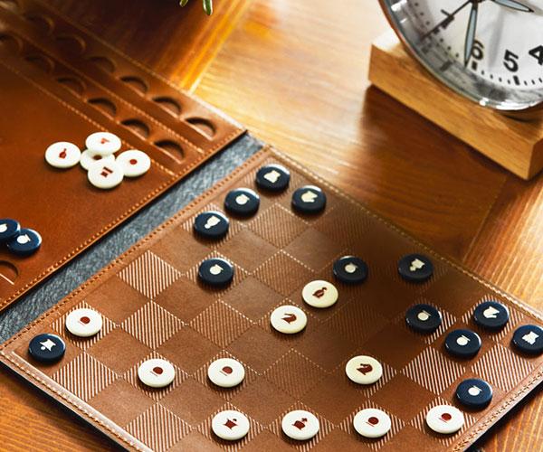 Shinola Travel Chess Set