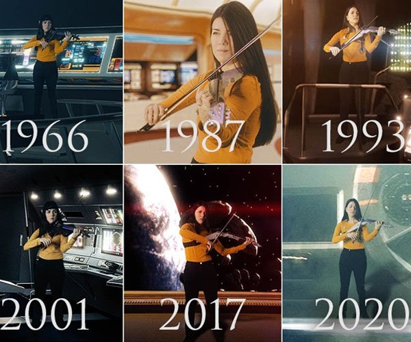Star Trek Violin Medley