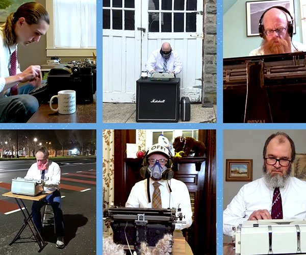 Typewriter Orchestra at Home