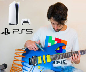 Game Console Guitar Sounds