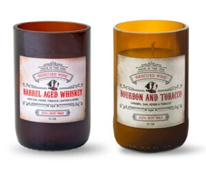 American Whiskey Candles