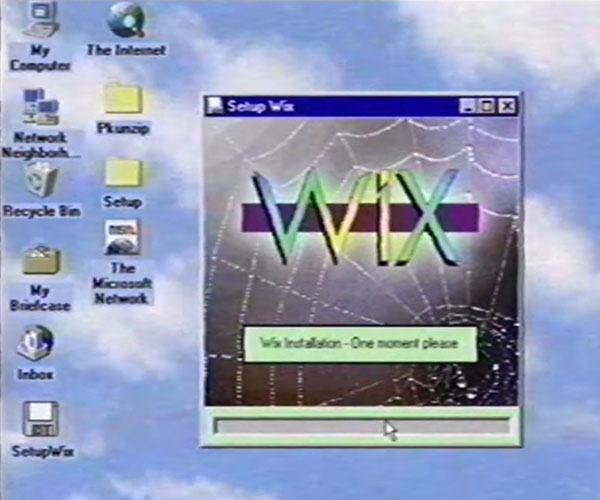 Wix in the 1990s