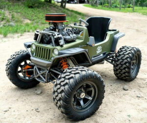 100hp Power Wheels Jeep
