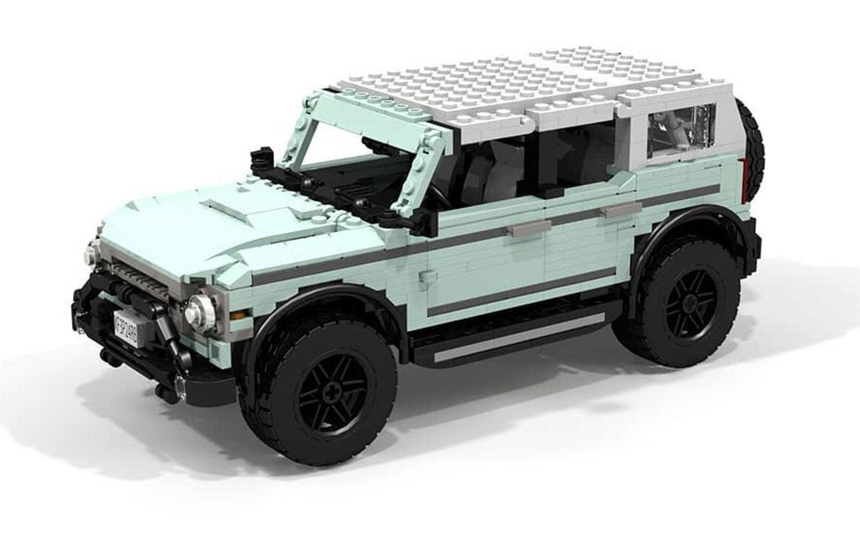 Ford Bronco LEGO MOCs