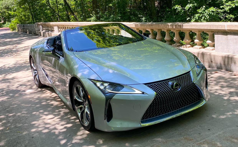 Driven: 2021 Lexus LC 500 Convertible