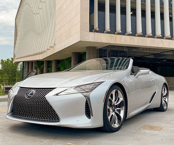 Driven: 2021 Lexus LC 500 Convertible