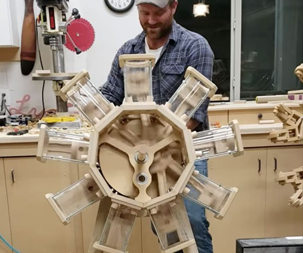 Wooden Radial Engine