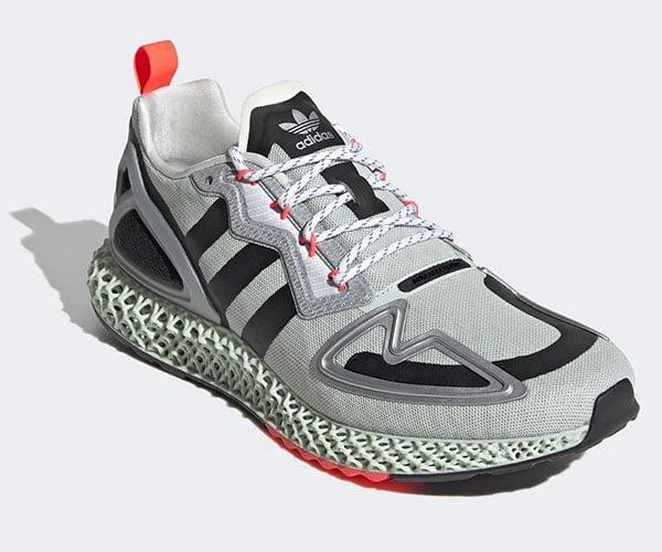 adidas ZX 2K 4D Running Shoes