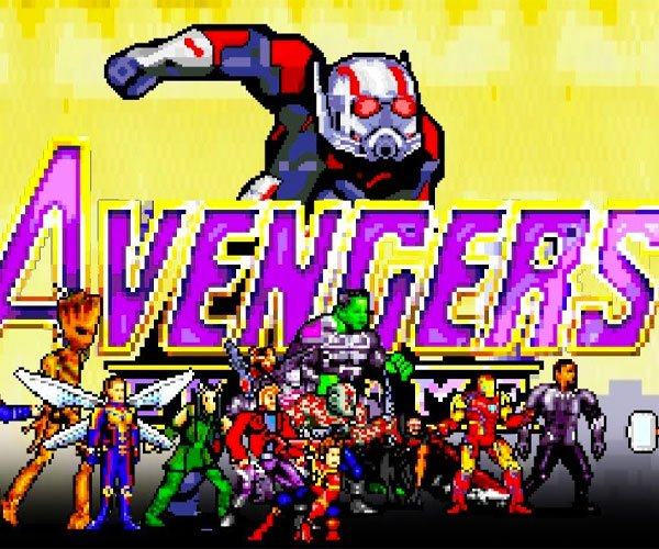 16-Bit Avengers: Endgame Battle