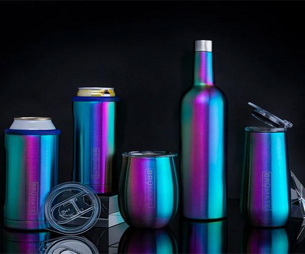 BrüMate Rainbow Titanium Collection