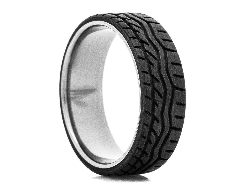 Carbon Fiber Tire Tread Ring