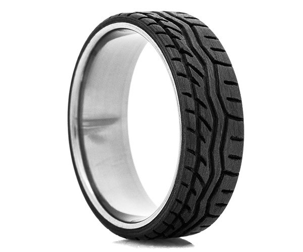 Carbon Fiber Tire Tread Ring