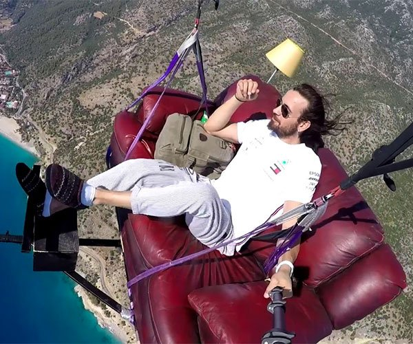 Couch Potato Paragliding