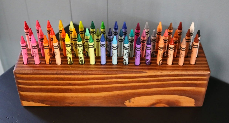 Crayon Organizer Block
