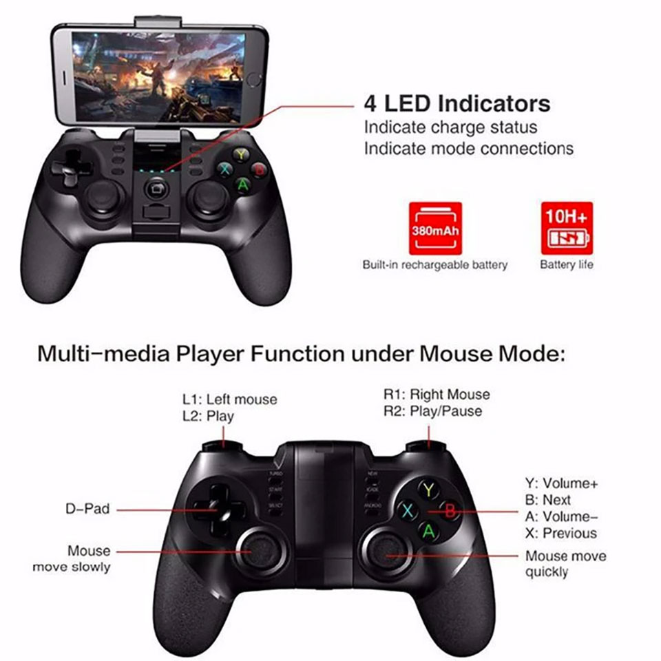 Dragon X5 Mobile Gaming Controller