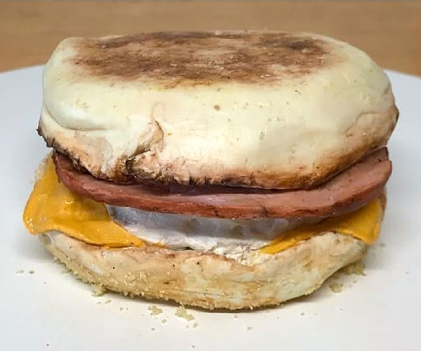 Egg McMuffin Cake