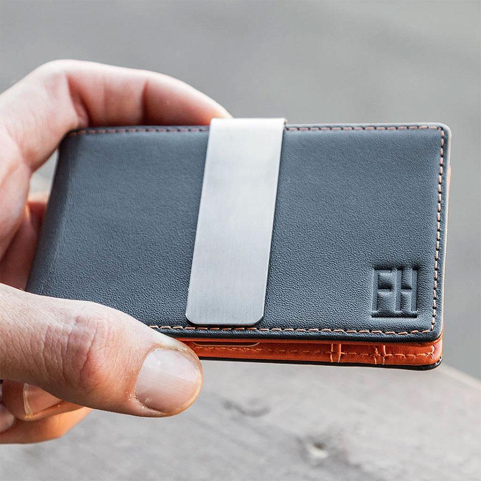 FH Money Clip Slim Wallet