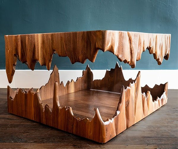 Building a Floating Cave Table