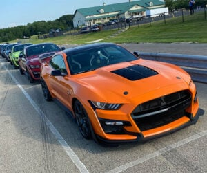 Ford Mustang Shelby GT500 Track Day