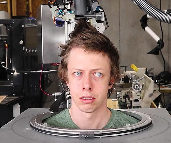 DIY Haircutting Robot