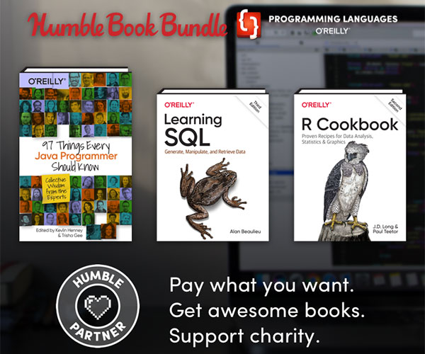 Humble Programming Book Bundle