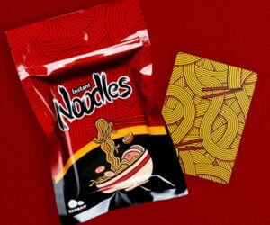Instant Noodles Playing Cards