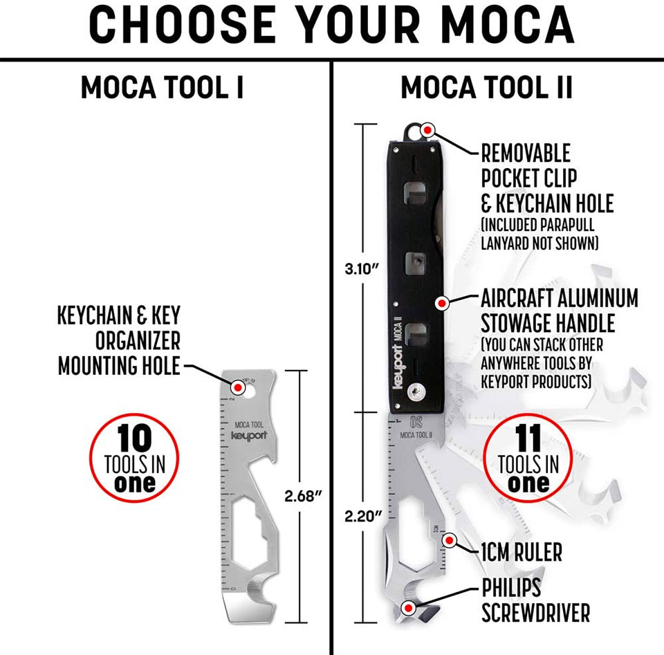 Keyport MOCA Keychain Tool