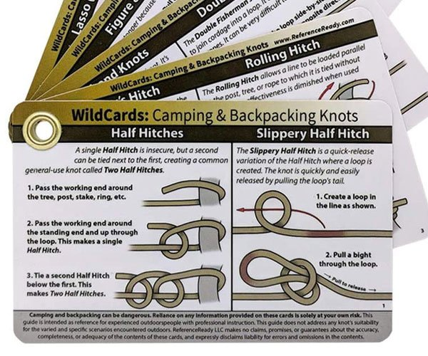 Knot Tying Reference Cards