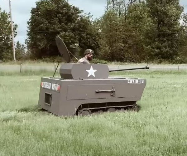 The Lawnmower Tank