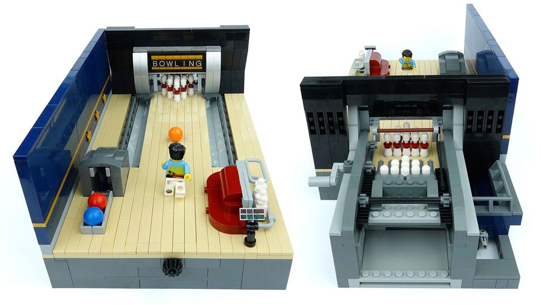 LEGO Ideas Bowling Alley