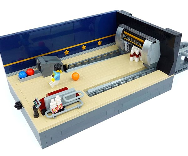 LEGO Ideas Bowling Alley