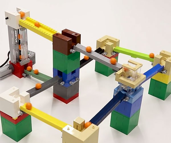 Endless LEGO Marble Machine