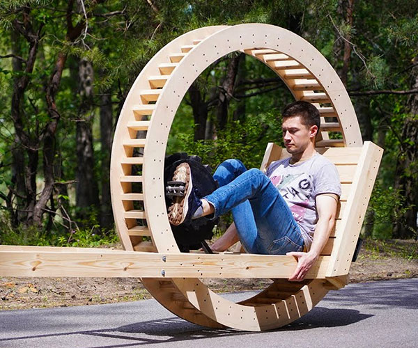 Making a Wood Monowheel