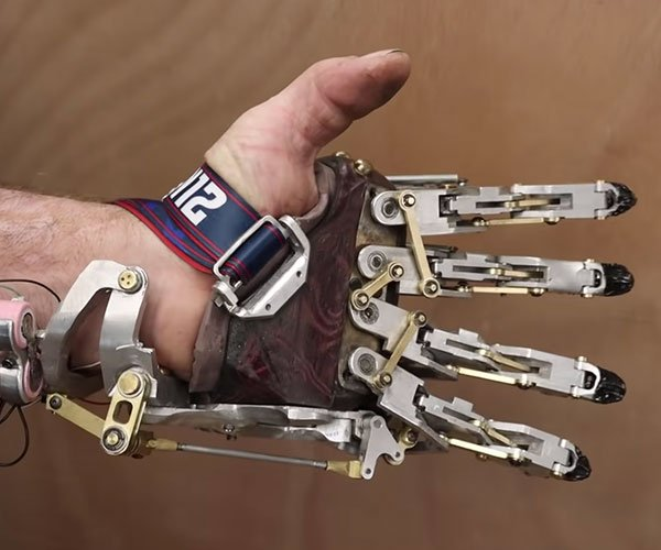 Mechanical Prosthetic Hand