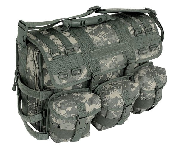 Mercury Tactical Messenger Bag