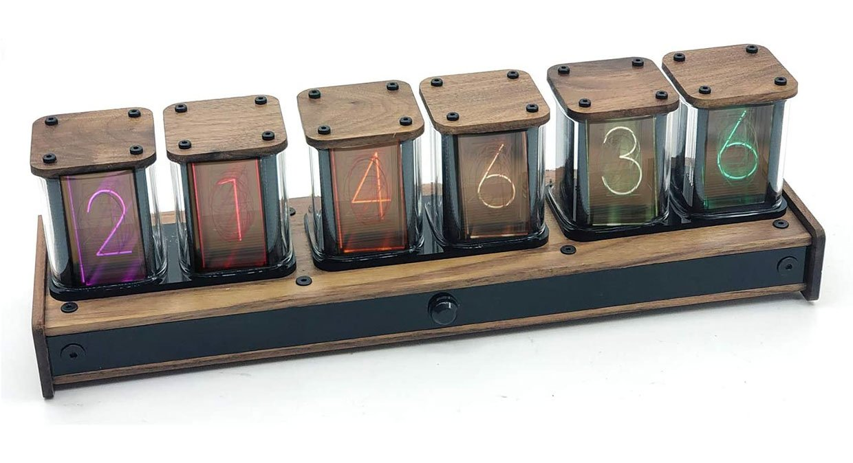 "NovelLife RGB ""Nixie"" Clock"