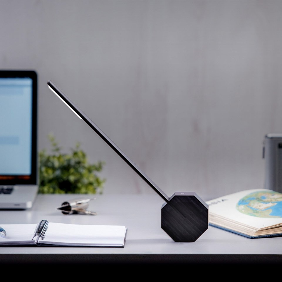 Buy Octagon One rechargeable LED desk lamp by Gingko