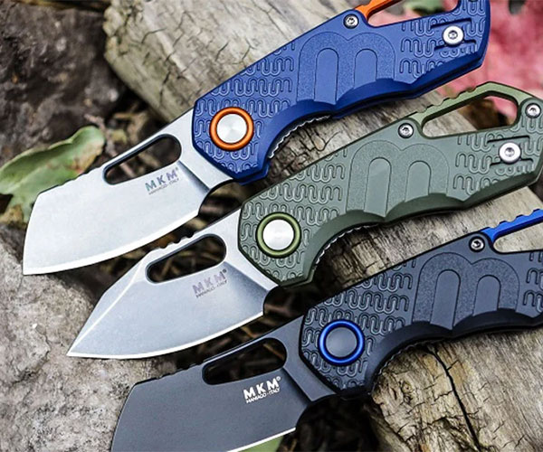 Production Knives by Custom Designers
