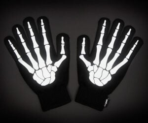 Reflective Skeleton Gloves