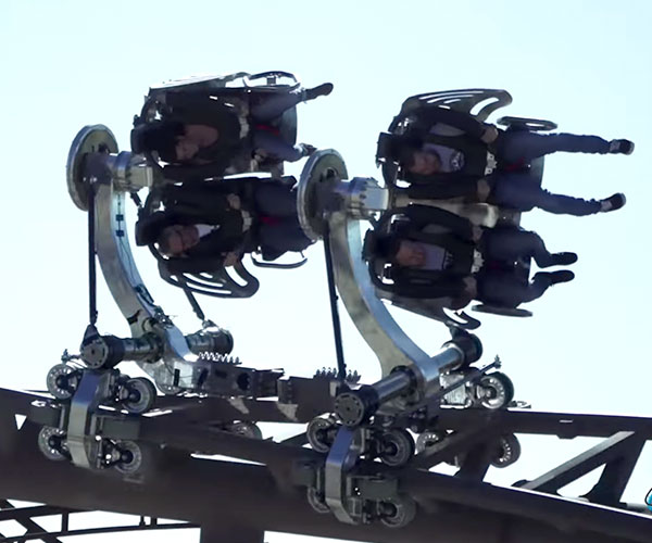Axis Roller Coaster Concept