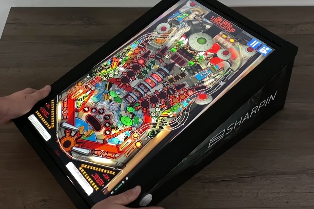 Sharpin Android Pinball Machine