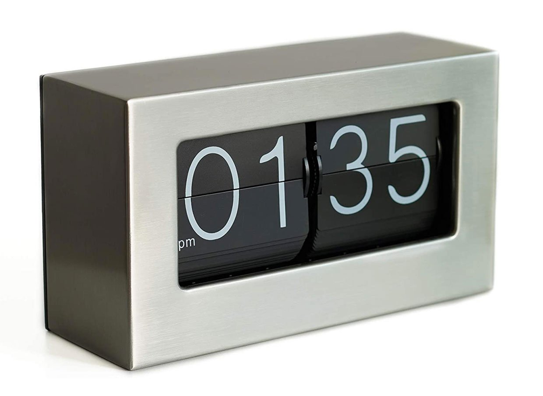 Stainless Flip Clock