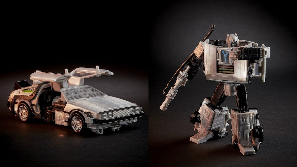 Transformers x Back to the Future