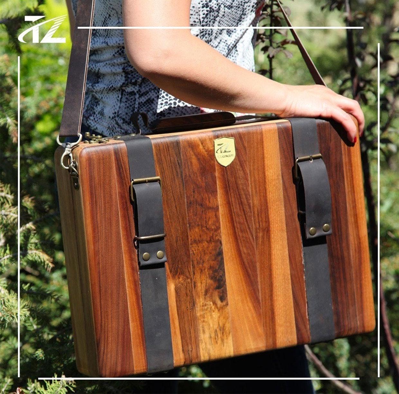 TZL Wooden Briefcase